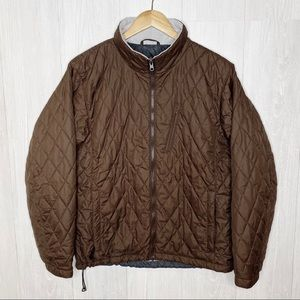 Columbia | Brown, Quilted lightweight Coat Sz. L